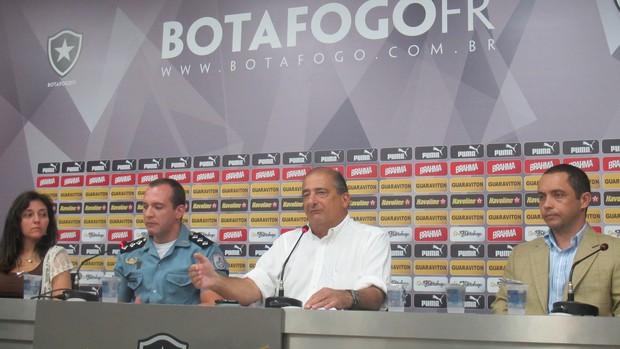 Sergio Landau -Engenhão - Botafogo (Foto: Fred Huber)