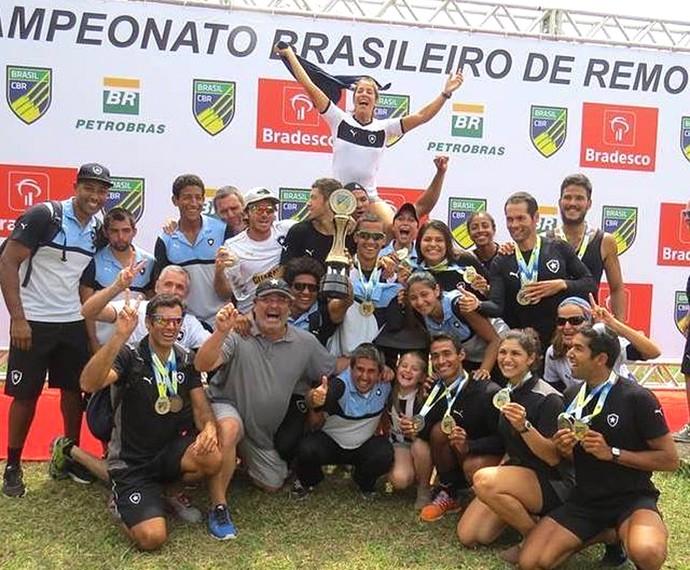 Botafogo, Campeonato brasileiro de Remo (Foto: Reprodução / Facebook do Botafogo)