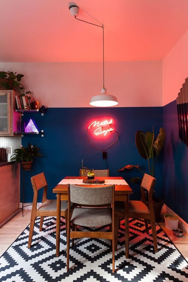 Top 10 sala de jantar rosa (Foto: divulgação)