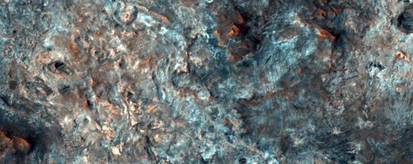 Um dos prováveis lugares de pouso da expedição europeia que planeja enviar uma sona a Marte, em 2020 (Foto: NASA/JPL/University of Arizona)