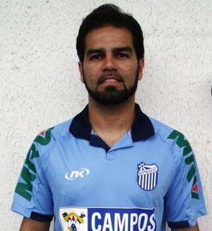 Ricardo Bóvio foi o jogador escolhido para divulgar o novo uniforme nas redes sociais (Foto: Divulgação)
