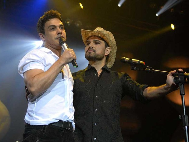 Zezé di Camargo e Luciano (Foto: Alexandre Durão / G1)