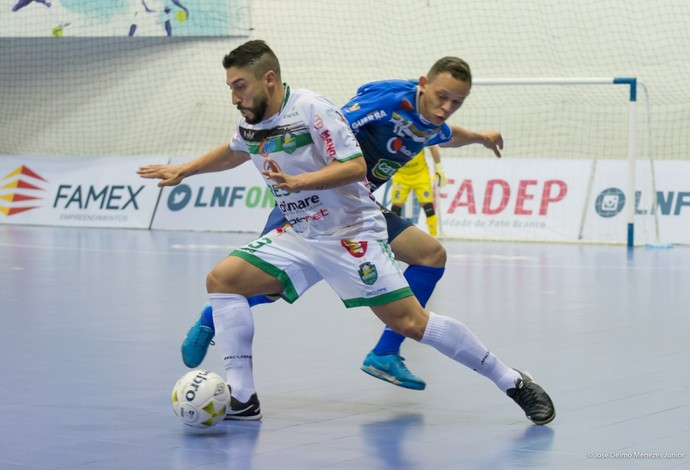 Sinoê Pato x Marreco liga nacional de futsal (Foto: José Delmo Menezes Junior/Divulgação)