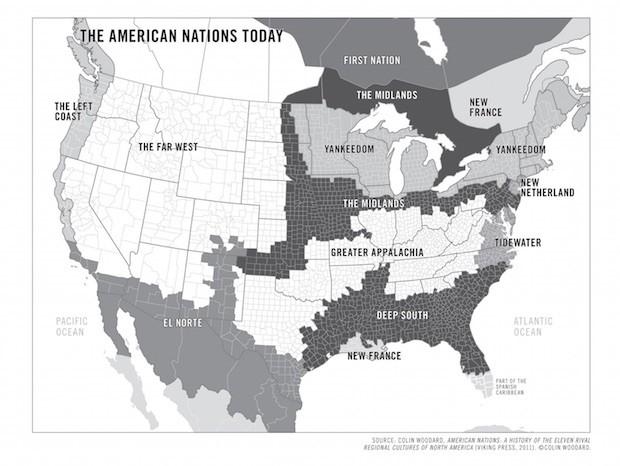 Mapa extraído do livro