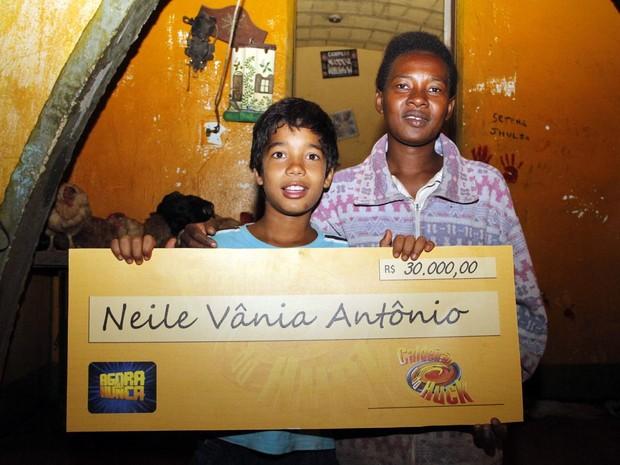 Família de Lilica ganhou R$ 30 mil após participar do programa Caldeirão do Huck (Foto: Fabio Rodrigues/G1)