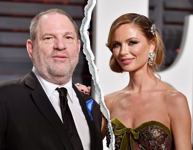 Harvey Weinstein e Georgina Chapman (Foto: Getty Images)