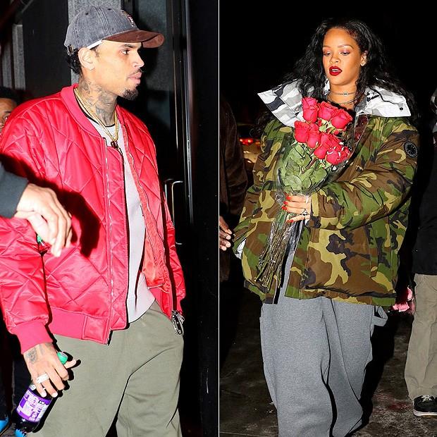 Rihanna e Chris Brown quase se encontram em Nova York ...