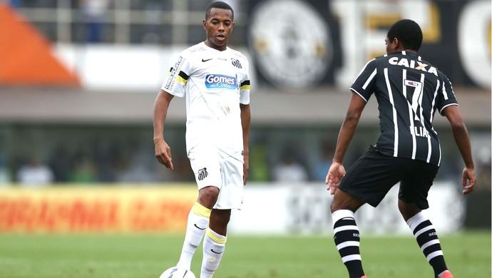 Robinho Santos e Corinthians (Foto: Marcos Ribolli)