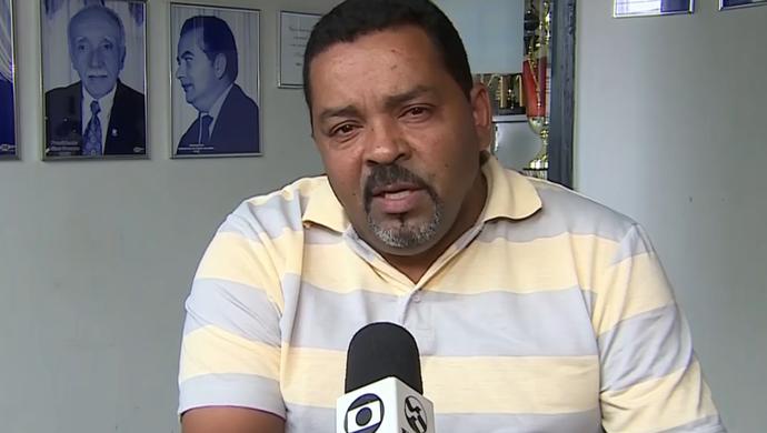 Lícius Cavalcanti, presidente do Central (Foto: Reprodução SporTV)