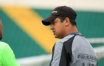 """Marquinhos Santos trabalha o lado psicológico no Figueira: """"Motivação alta"""""""