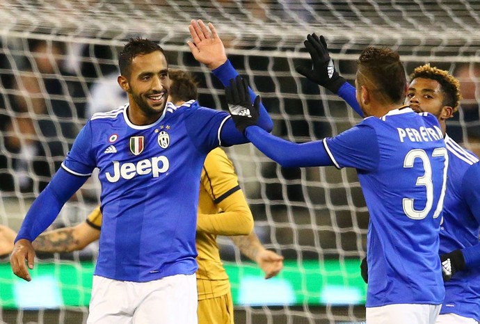 Benatia, Juventus x Tottenham (Foto: Scott Barbour/Getty Images)