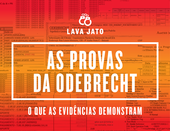 As provas da Odebrecht (Foto: Época)