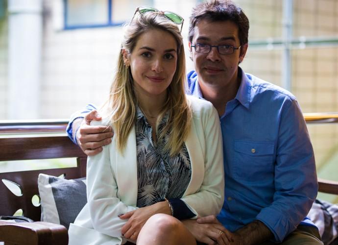 Monique Alfradique e Bruno Mazzeo serã um casal em 'A Regra do Jogo' (Foto: Ellen Soares / Gshow)