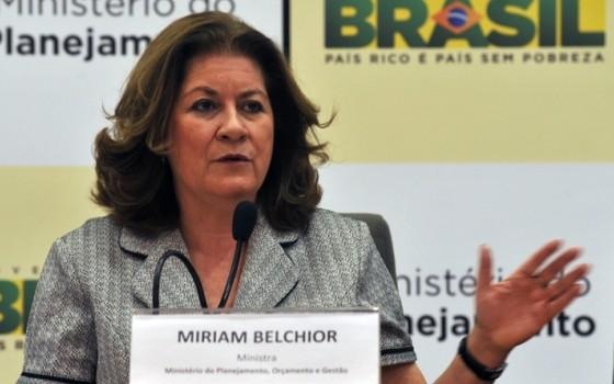 A ministra do Planejamento, Miriam Belchior (Foto: Valter Campanato/ Agência Brasil)