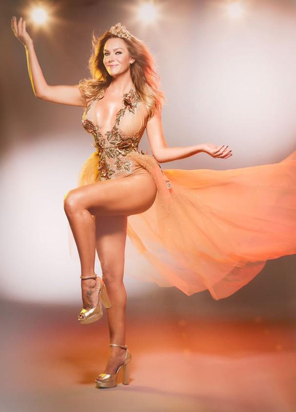 Luize Altenhofen, musa da Águia de Ouro e rainha do camarote São Paulo Samba e Carnaval (Foto:  Divulgação/Beleza: Renato Olliveira)
