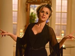 Giulia Gam vive a personagem Bárbara Ellen em 'Sangue bom' (Foto: TV Globo/Frederico Rozario)