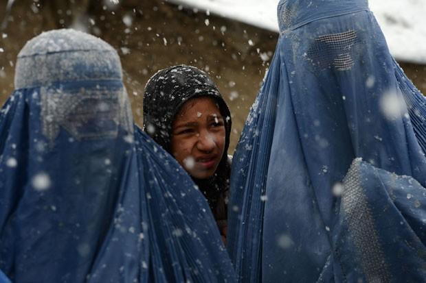 Parte dos parlamentares se opõe a direitos para mulheres (Foto: Shah Marai/AFP)