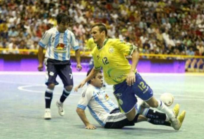 Thiago Negri futebol de salão (Foto: Reprodução Facebook)