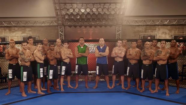 Os times de Vitor Belfort e Wanderlei Silva já estão definidos para o TUF Brasil (Foto: André Schiliró - TUF Brasil)