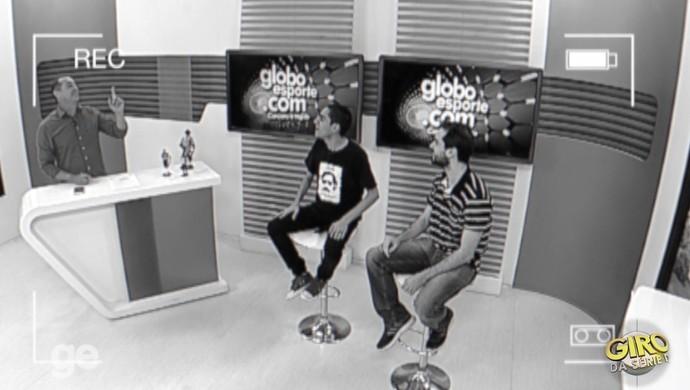 giro serie d programa 7 pernambuco américa-pe (Foto: Reprodução/TV Asa Branca)