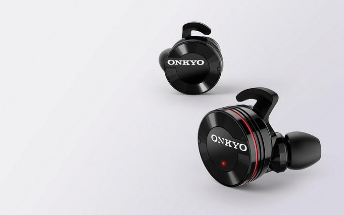 Onkyo W800BT, fone in-ear sem fio lançado na IFA 2015 (Foto: Divulgação)