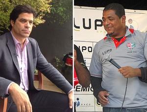 montagem Rai e Vampeta ex-jogadores (Foto: Editoria de Arte / Globoesporte.com)