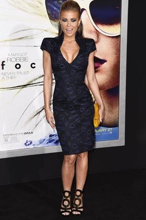Carmen Electra em première de filme em Los Angeles, nos Estados Unidos (Foto: Robyn Beck/ AFP)