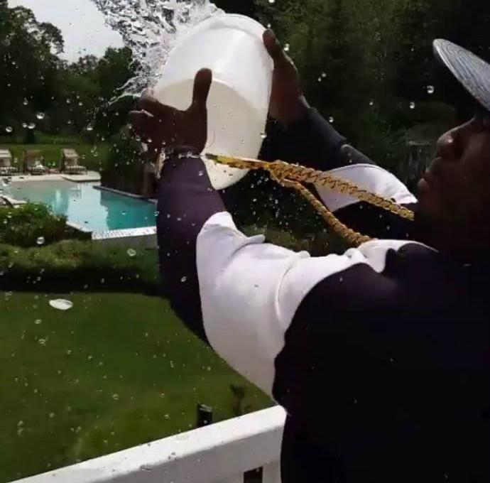 50 Cent desafia Mayweather e brinca com pugilista (Foto: Reprodução)