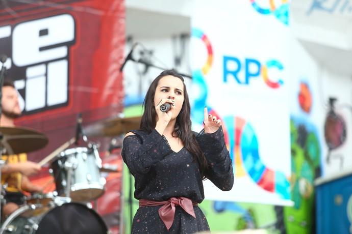 Allice Tirolla The Voice Brasil (Foto: Rubem Vital/ RPC)