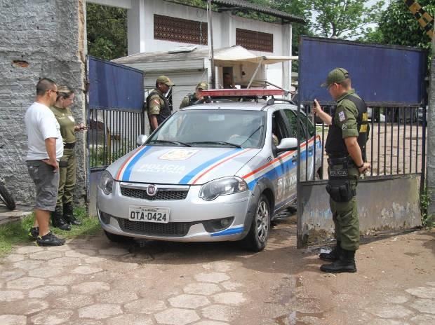 27 viaturas estão detidas pelos PMs do 6º Batalhão, que estão com os serviços paralisados no estado desde a última sexta (4). (Foto: Elielson Modesto/Amazônia Hoje)