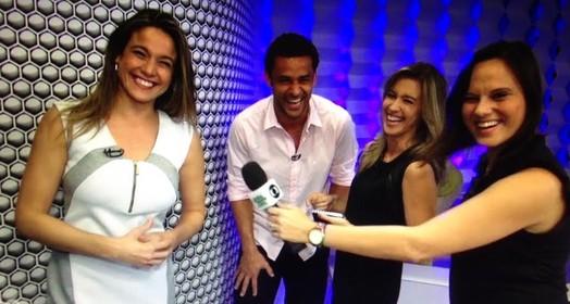 bastidores (Reprodução - TV Globo)