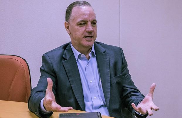 Airton Evangelista, presidente da Takata do Brasil (Foto: Marcos Camargo/Autoesporte)