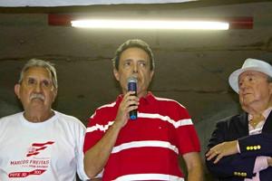 Marcos Freitas eleições Náutico (Foto: Aldo Carneiro / Pernambuco Press)