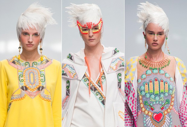 O LOOK SUPERBLOND DE MANISH ARORA (Foto: Imax Tree)