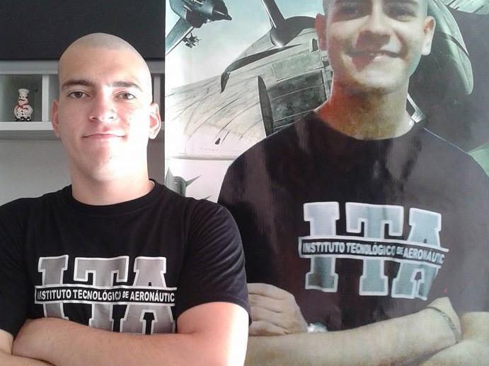 Renner Leite, 19 anos, passou no ITA  (Foto: Foto: Arquivo pessoal )