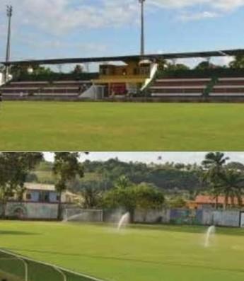 estádio Antônio Carlos Magalhães Porto Seguro base suíça (Foto: Divulgação / COL)