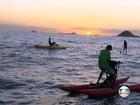 Bom Dia Verão mostra travessia da Praia da Barra até Ilhas Tijucas, no Rio
