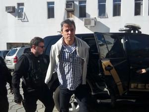 Flávio foi preso na manhã de terça-feira (28), no Rio de Janeiro (Foto: Edi Carlos / RPC)