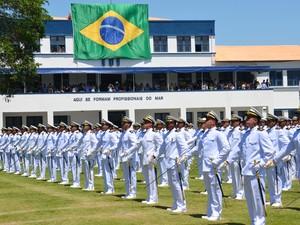 Integrantes da Marinha (Foto: Divulgação)