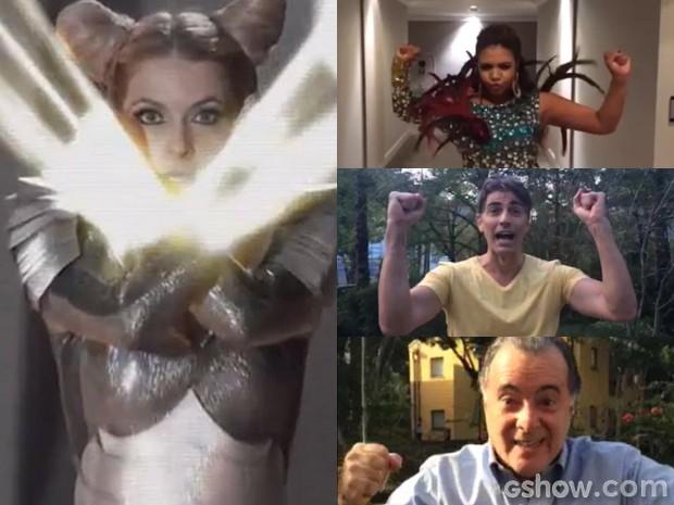 Será que os 'Cabungas' de Gaby Amarantos, Reynaldo Gianecchini e Tony Ramos são tão bons quando o de Shelda? (Foto: Geração Brasil/TV Globo)