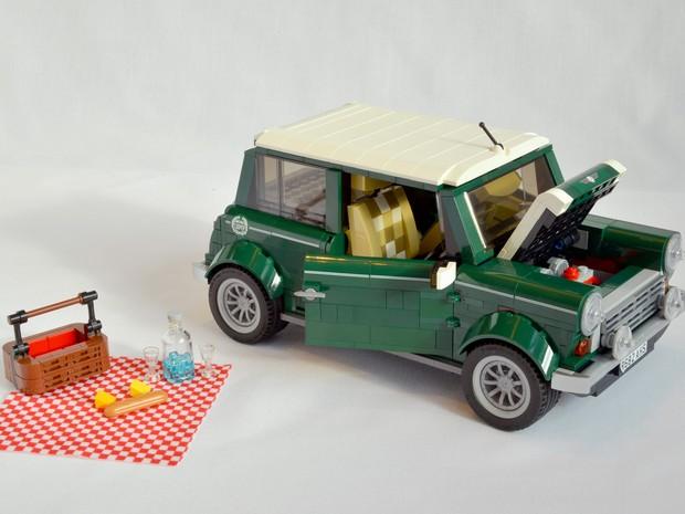 Mini Cooper Lego (Foto: Divulgação)