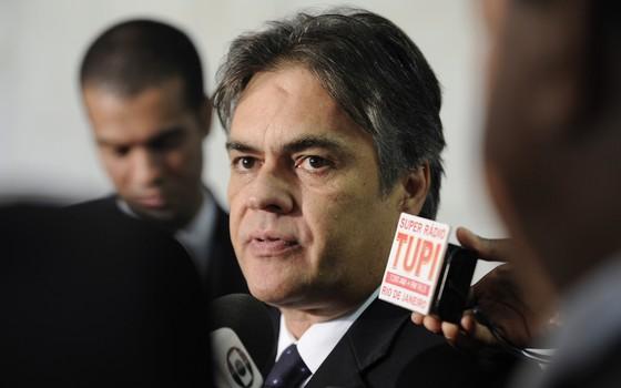Senador Cássio Cunha Lima (PSDB-PB) em foto de fevereiro de 2015 (Foto: Agência Senado)