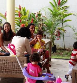 Veja a galeria de fotos de momentos fofos das mamães com seus bebês (Bebê Hipoglós/Mais Você)