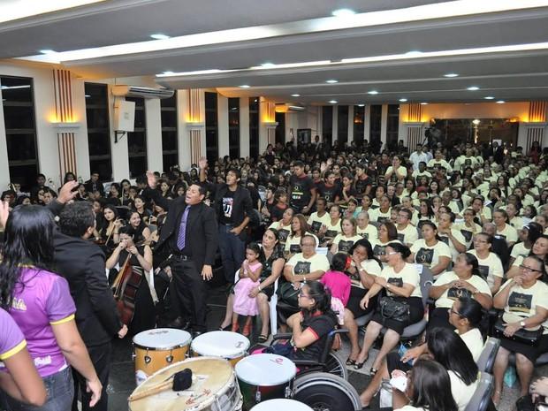 Assembleia de Deus comemora o centenário no Amapá em julho de 2017 (Foto: Divulgação)