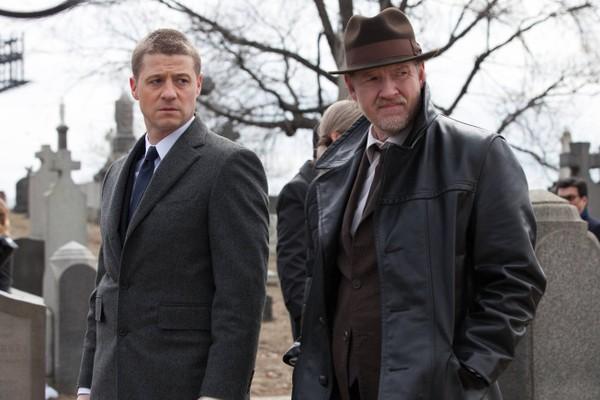 O ator Donal Logue em cena de Gotham (Foto: Reprodução)