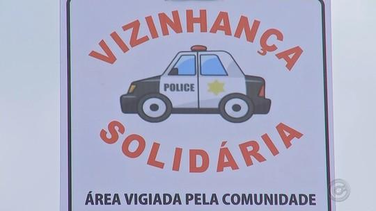 Moradores criam associação para inibir assaltos em bairro de Itapetininga