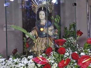 Imagem de Santa Luzia (Foto: José de Oliveira Araújo)