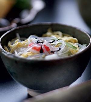 Salada de harusame (Foto:  )