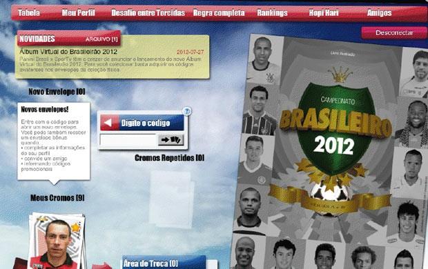 Álbum do Campeonato Brasileiro - destaque grande (Foto: Arte / SporTV.com)