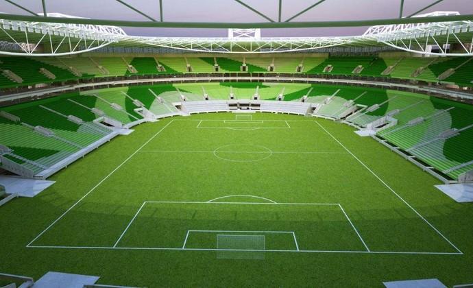 Allianz Parque (Foto: Divulgação/WTorre)